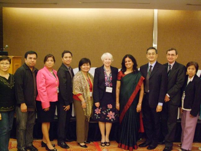 IFCC - Members of the IFCC workshop team with their hosts in Manila, Philippines, March 2011
