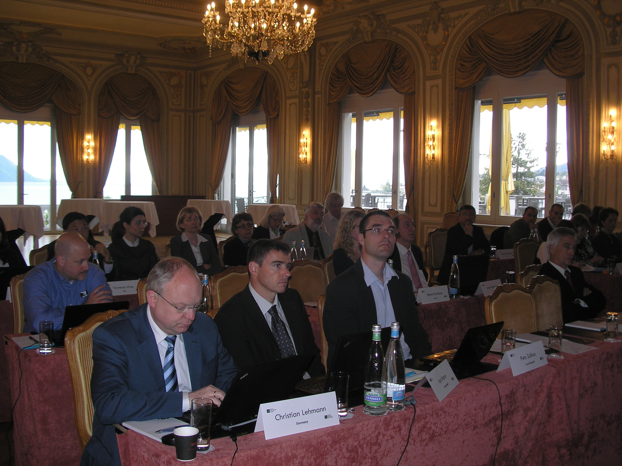 2011 WADA ISL training session, in Montreux, Switzerland.